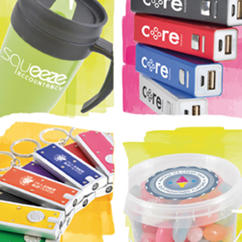 Premium Portfolio promotional desktop items and general merchandise